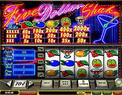 Five Dollar Shake - 5 reels slot