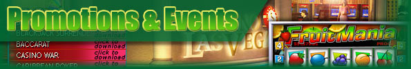 Casino Las Vegas Promotions & Events